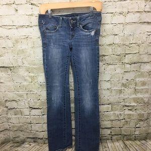 🍁 American Eagle Swim Bootcut Jeans K13